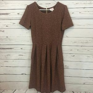 Lularoe Amelia dress Shimmer size M